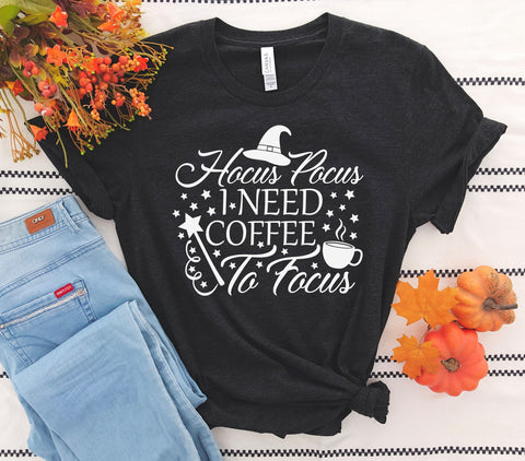 Hocus Pocus I Need Coffee Tee