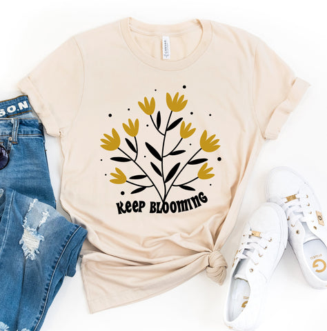 Keep Blooming Tee