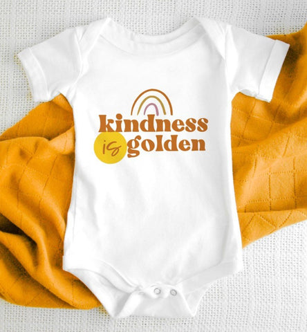 Kindness Is Golden Kids Tee/Bodysuit