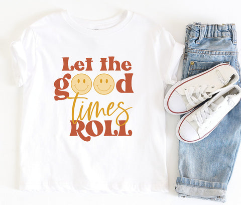 Let The Good Times Roll Kids Tee/Bodysuit