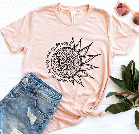 Live By The Sun/Moon Tee