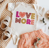 LOVE MORE Kids Tee/Bodysuit