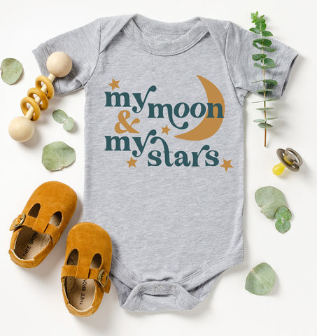 My Moon & My Stars Kids Tee/Bodysuit
