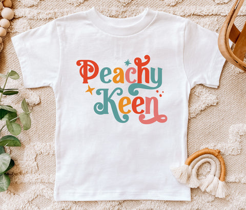 Peachy Keen Kids Tee/Bodysuit
