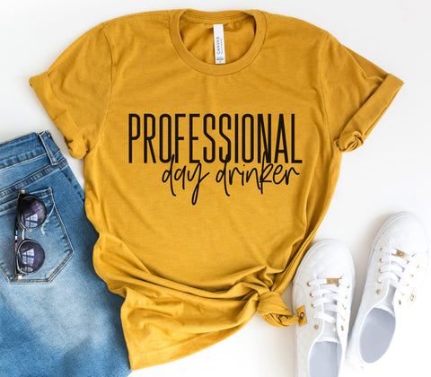 Professional Day Drinker Tee