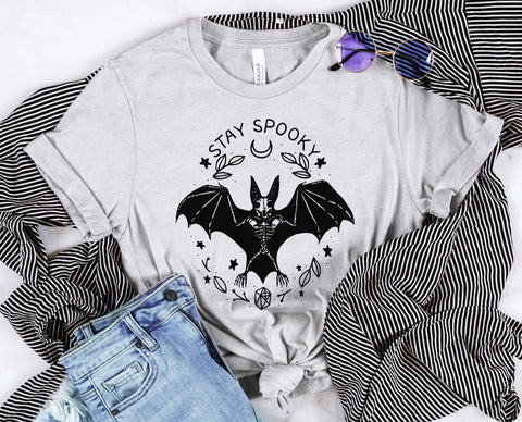 Stay Spooky Bat Tee