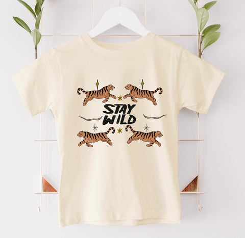 Stay Wild Kids Tee/Bodysuit
