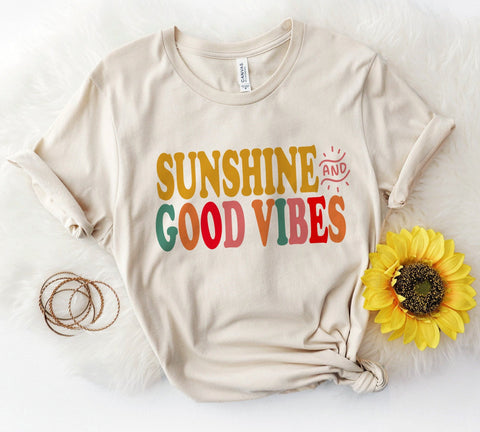 Sunshine & Good Vibes Tee