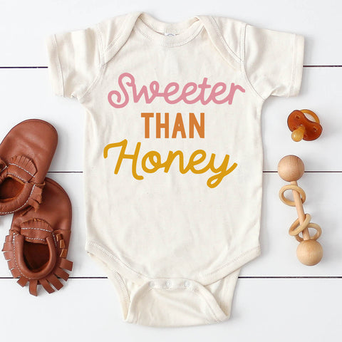 Sweeter Than Honey Kids Tee/Bodysuit