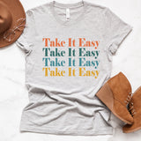 Take It Easy Colorful Tee