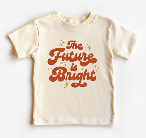 The Future Is Bright Kids Tee/Bodysuit