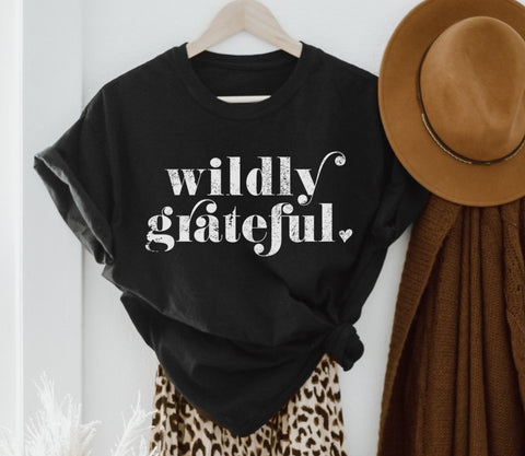 Wildly Grateful Tee