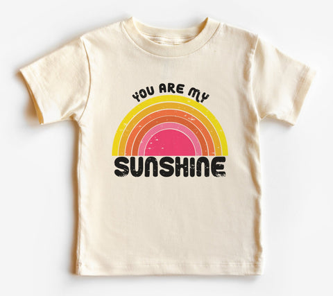 You Are My Sunshine Rainbow Kids Tee/Bodysuit