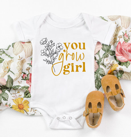 You Grow Girl Kids Tee/Bodysuit