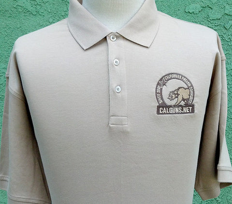 Pima cotton Short Sleeve Polo Shirt