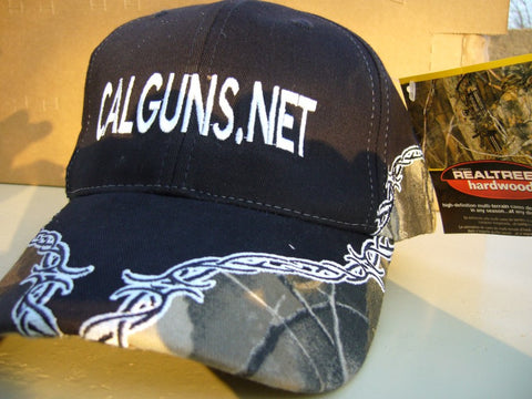 Black Green Camo Cap