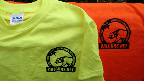 Safety Orange CGN Short Sleeve T-shirt