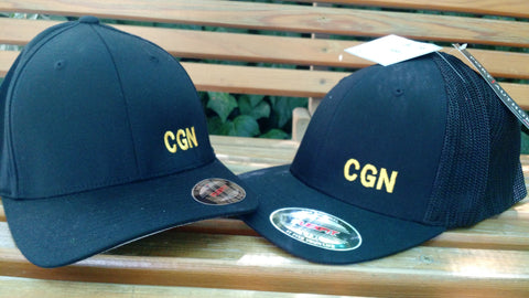 FlexFit hat, CGN embroider crown