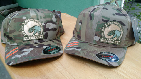 Camo in original Flexfit® Cap  C865 multicam