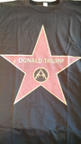 Trump Star T-shirt (crossed AR's)
