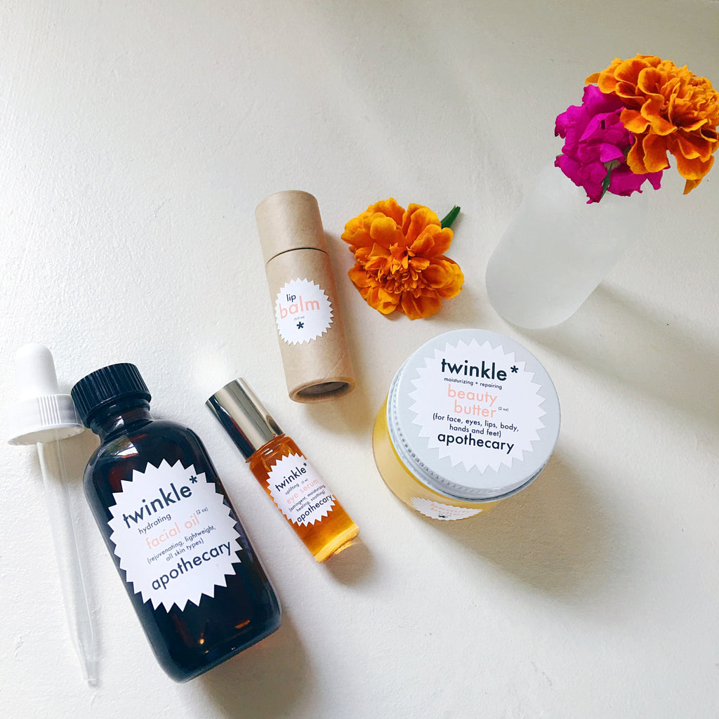 Oil, serum, butter, or balm? A guide to Twinkle Apothecary's moisturizers!