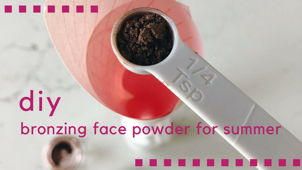 bronzing face powder diy twinkle apothecary