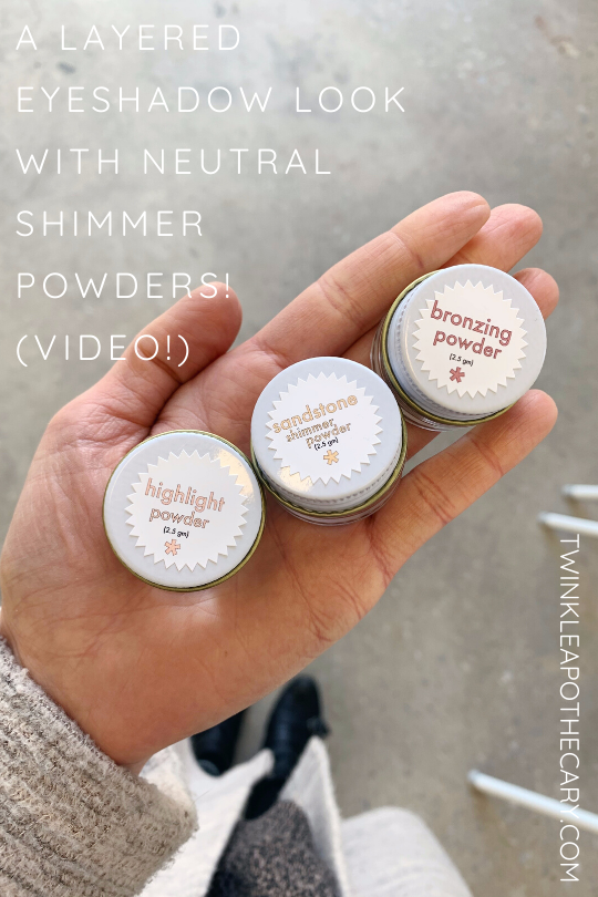 A Layered Eyeshadow Look Using Neutral Shimmer Powders (Video!)