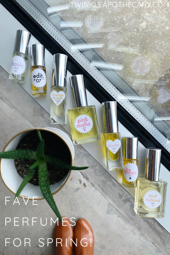 Favorite Natural Perfumes For Spring!