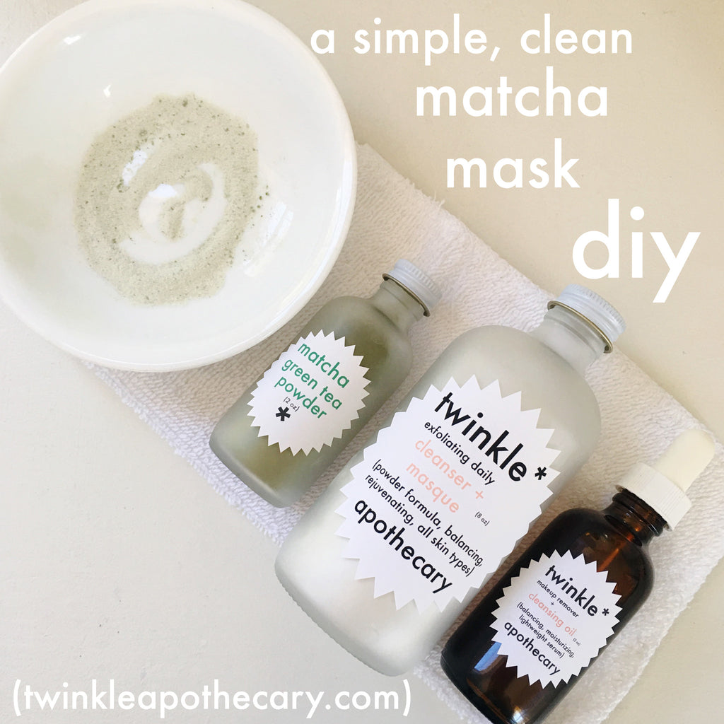 match mask DIY twinkle apothecary