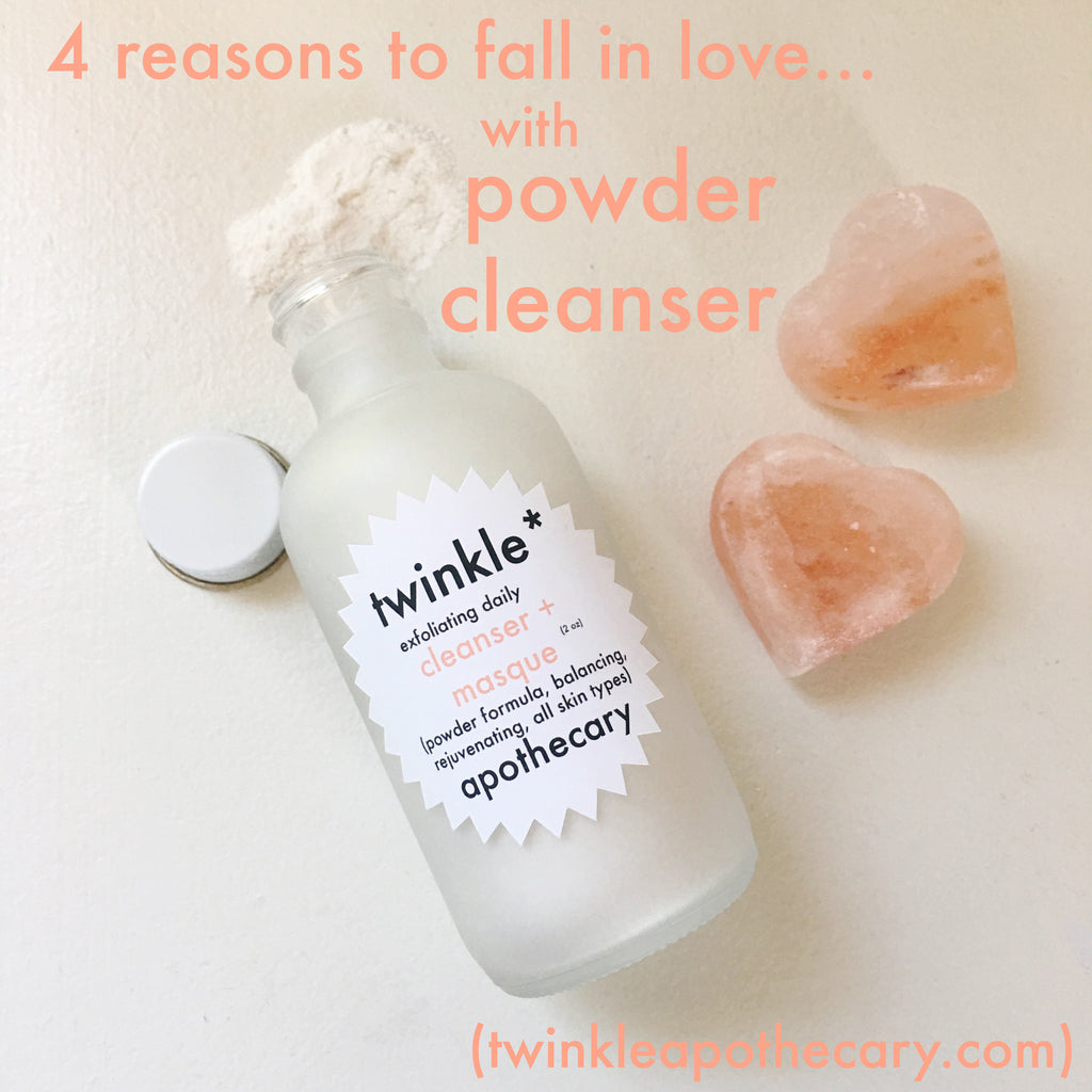 4 Reasons To Fall In Love With Powder Cleanser