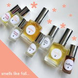 Smells like fall... single note scents to celebrate the coziest season!