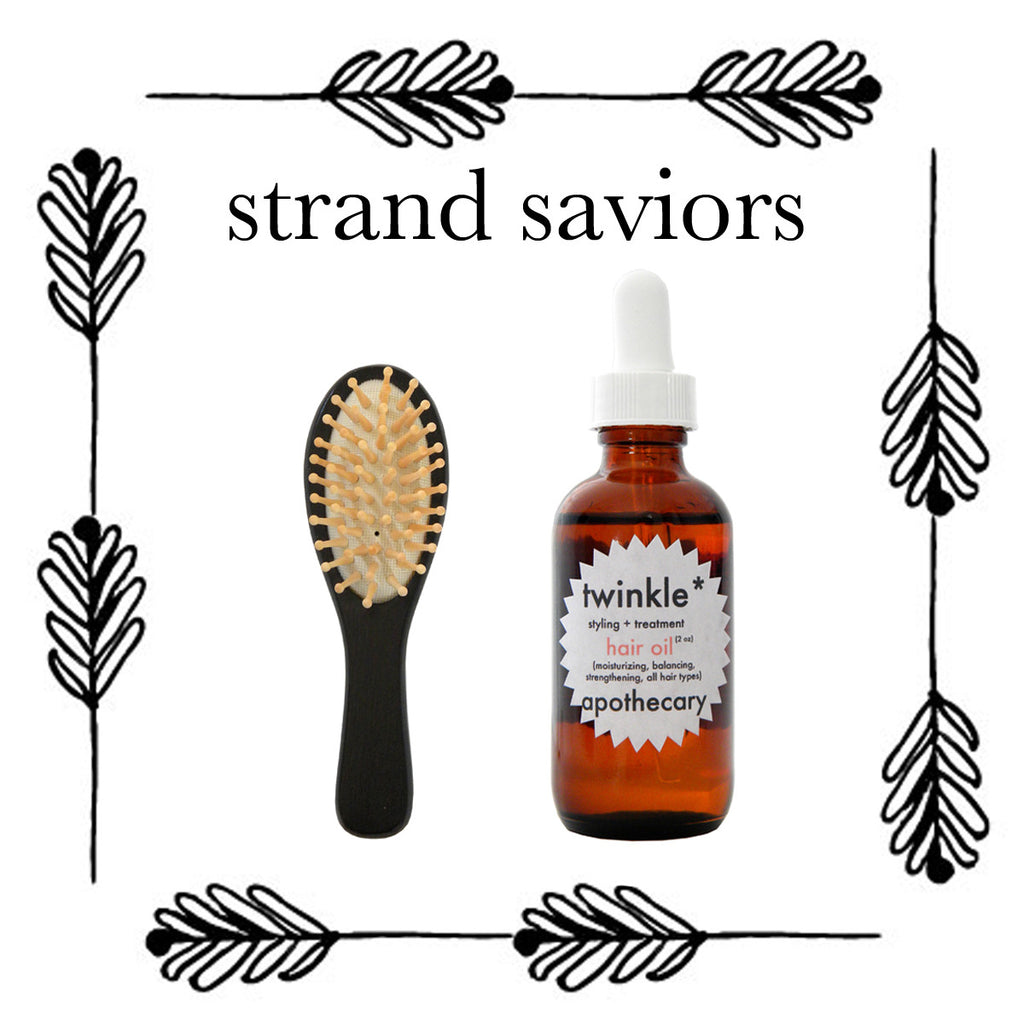 Free Brush with Hair Oil Purchase!