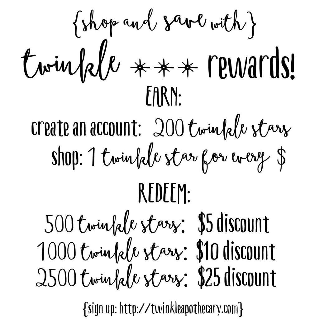 Introducing… Twinkle Star Rewards!