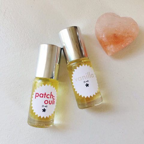 vanilla and patchouli perfumes twinkle apothecary