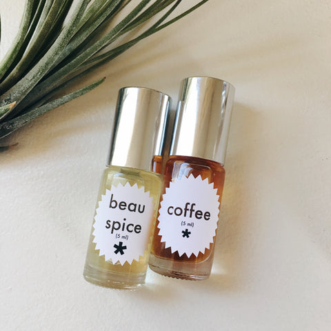 beau spice and coffee perfume twinkle apothecary