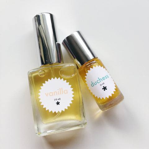 duchess and vanilla perfume twinkle apothecary