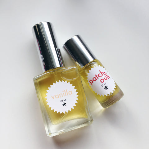 vanilla and patchouli perfume twinkle apothecary