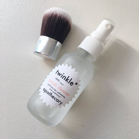 twinkle apothecary daily makeup brush cleaner