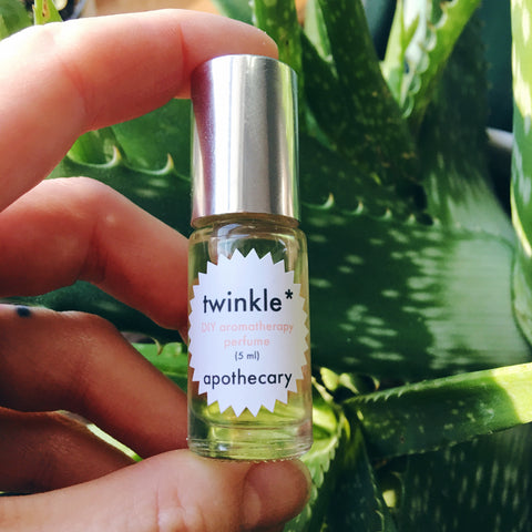 twinkle apothecary custom perfume service