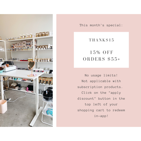 twinkle apothecary app-exclusive discount