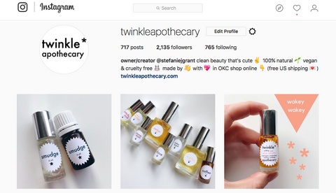 twinkle apothecary instagram
