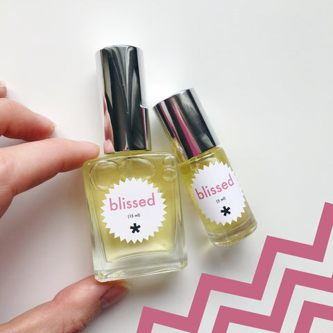 blissed perfume twinkle apothecary