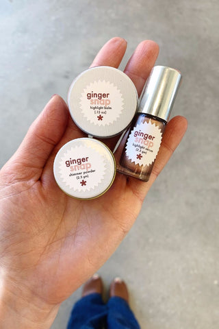 ginger snap makeup twinkle apothecary