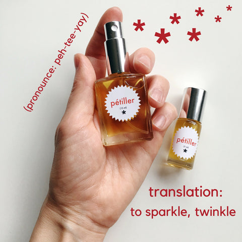 petiller perfume twinkle apothecary