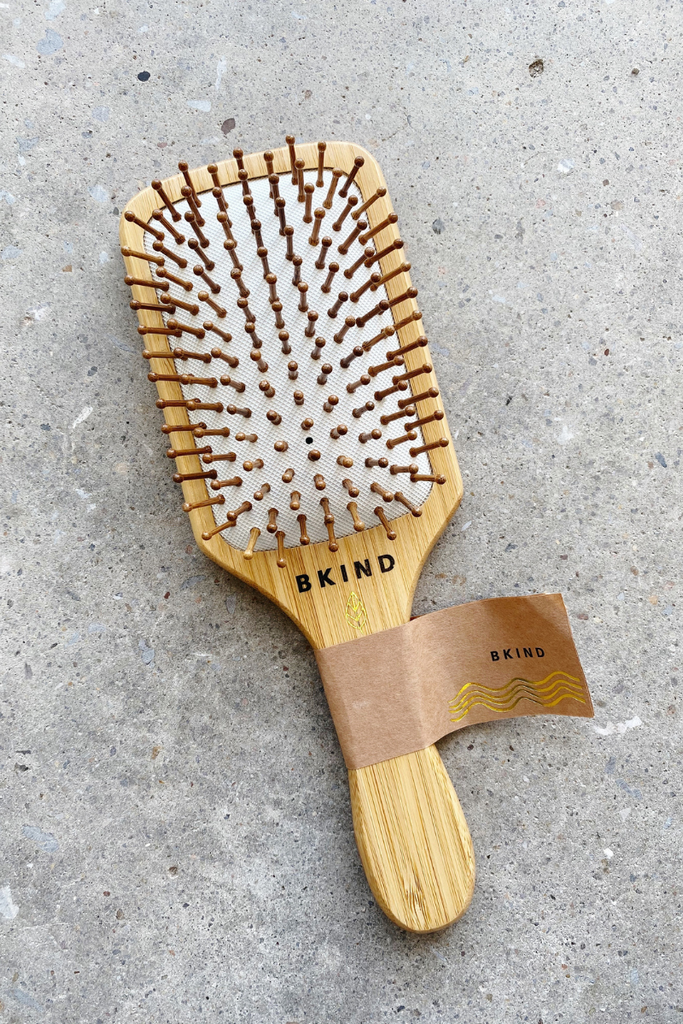 bamboo hair brush bkind twinkle apothecary