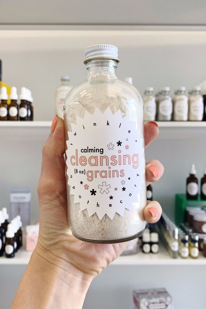 calming cleansing grains twinkle apothecary