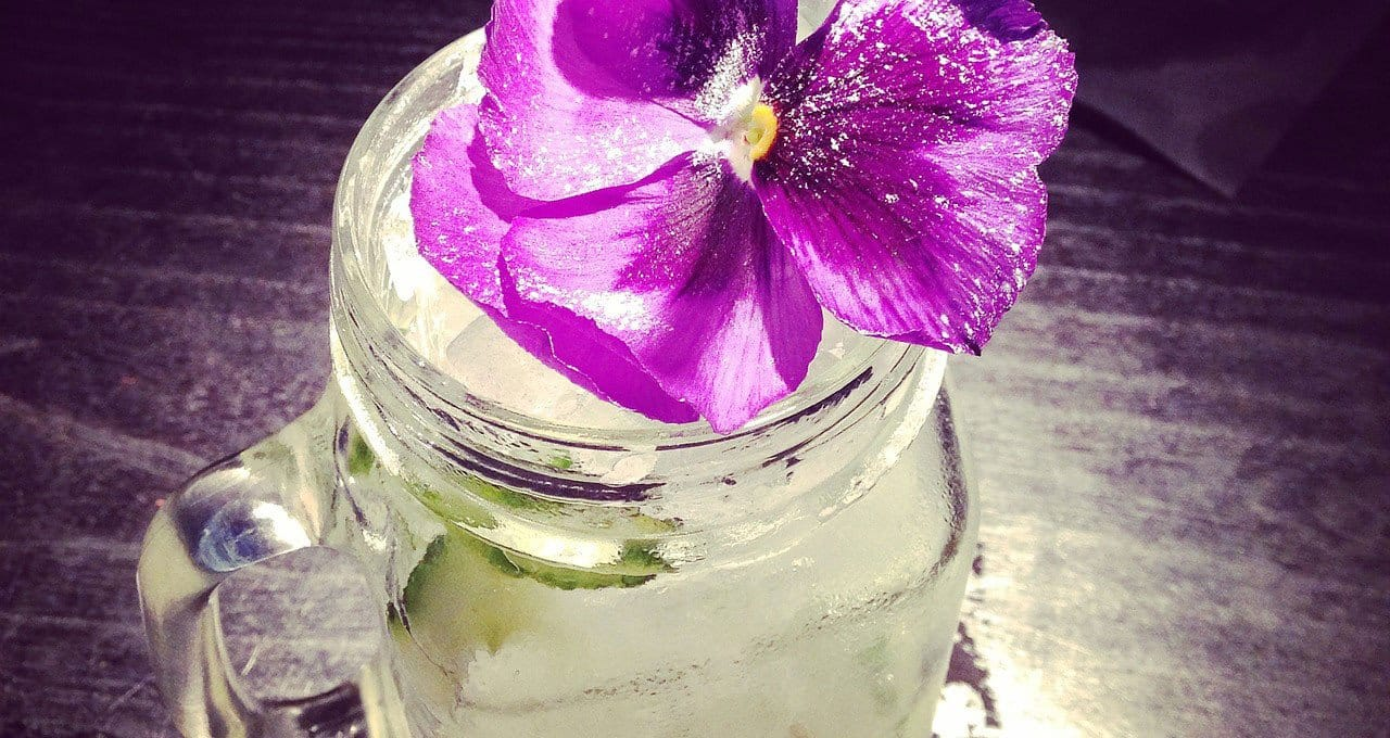 There's Nothing Like Flowers to Suit Your Summer Fancy and Your Fancy Cocktails
