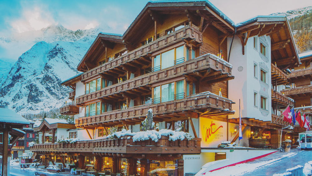 winter chalet switzerland