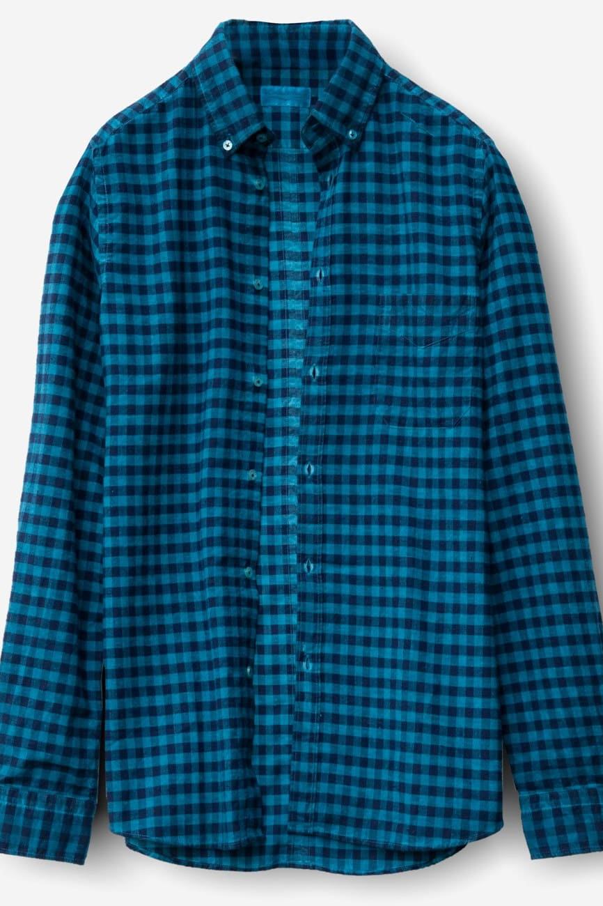 Bow Ottanio Button Down Check Flannel - Shirts