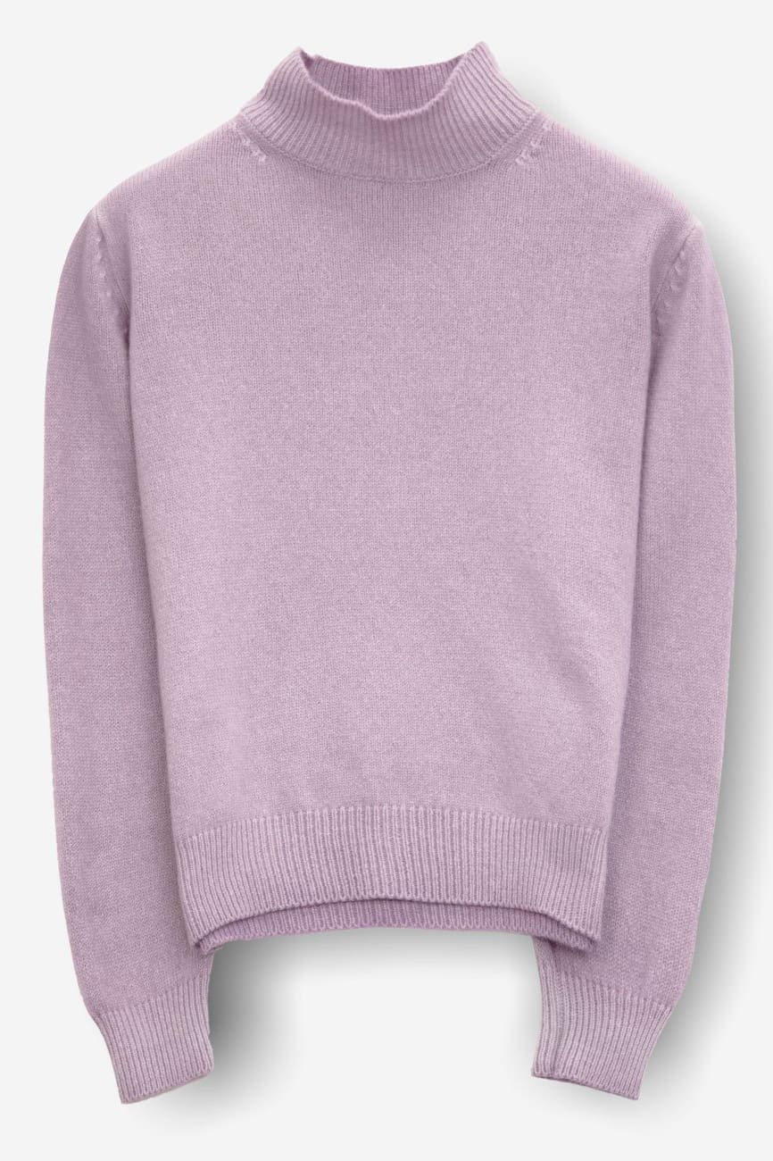 Ellary Dawn - Women High Neck in Cashmere Blend - Sweaters